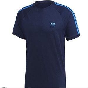 Adidas navy blue 3-striped  XXL tee